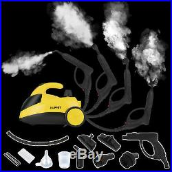 1500W 51Oz Mini Portable Pressurized Steam Cleaner withMulti-Purpose Brushes&Heads