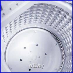 8 lbs Compact Mini Twin Tub Washing Machine Washer Spiner Portable and Versatile