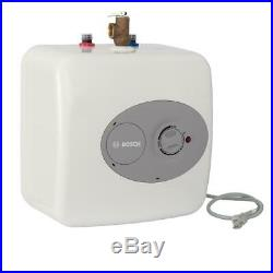 Bosch Water Heater Point Of Use Electric Mini Tank Compact Indoor White 2.5 Gal