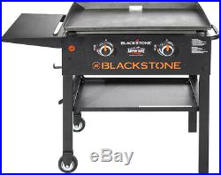 Compact Grill 28-inch Portable Griddle Outdoor Camp Backyard Camping Cooking BBQ