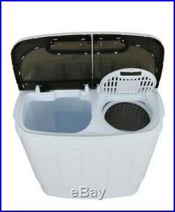 Compact Portable Washer & Dryer with Mini Washing Machine and Spin Dryer small