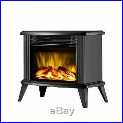 DONYER POWER 13 Height Mini Electric Fireplace Tabletop Portable Heater