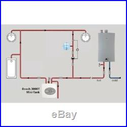 Electric Hot Water Heater Under Sink Small Mini Tank 2.5 Gal. Compact Bathroom