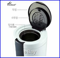Hanil FD-08BL Portable Mini Compact Spin Dryer Clothes Laundary Food Waterer A r