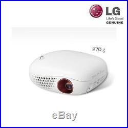 LG PV150G Mini beam LED Projector with Embedded Battery SD 100Ansi Ultra compact