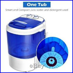 Mini Machine Washing Portable WASHER Compact Laundry Spinner W 7LBS Capacity NEW