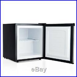 Portable 1.1cu. Ft. Compact Single Home Mini Upright Freezer Stainless Steel New