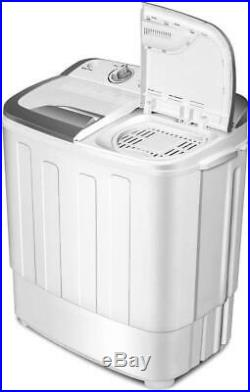 Portable Washer And Dryer Mini Compact All-In-One Washing Machine 8 Lbs Top-Load