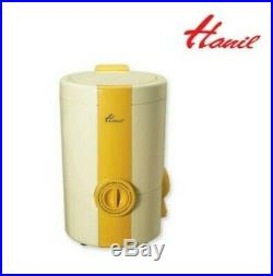 Sale HANIL Portable Mini Compact Dryer W-110 Water Spin Extractor Home Food agep