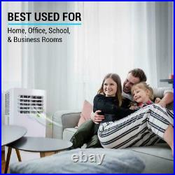 SereneLife SLPAC105W 300 Square Feet 10000 BTU Portable Air Conditioner withRemote